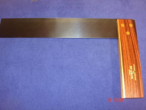 "Joseph Marples Rosewood Carpenters Try Square 313mm 12"" Brass Sheffield 19F"